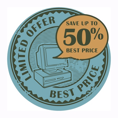 Grunge rubber stamp with the text Best Price, Limited Offer written inside the stamp Stock Vector - 18570683