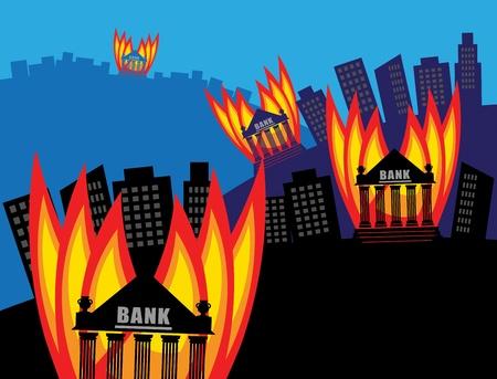 burning money: Burning Bank