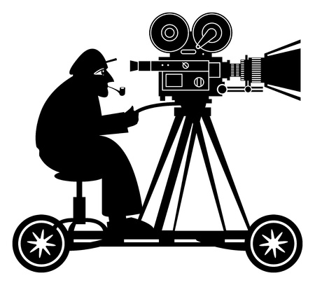 Camera man Stock Vector - 19140131