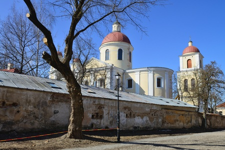 holy spirit: Orthodox church of the Holy Spirit in Vilnius, Spring time