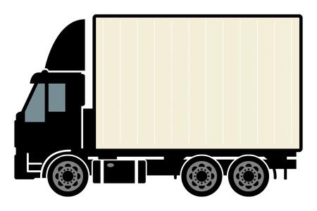 Delivery truck Stock Vector - 19505285