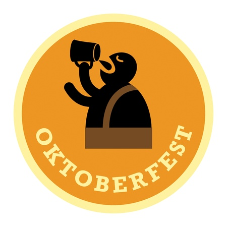 Oktoberfest Beer label Stock Vector - 20723858
