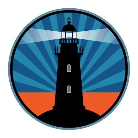 灯台をラベルします。