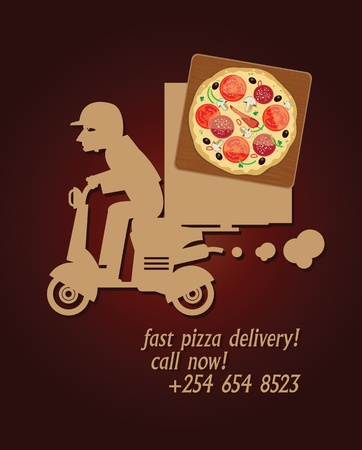 Pizza Delivery design Vector