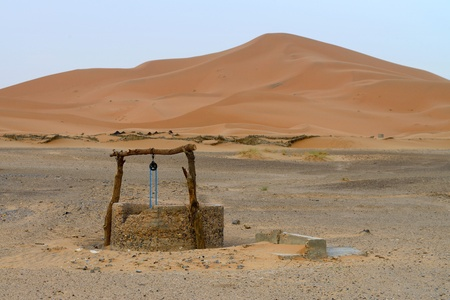 Acqua bene nel deserto del Sahara, Marocco