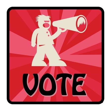 renuncia: Vota firme