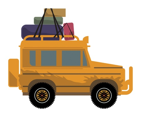 Off-road vehicle Stock Vector - 22150825