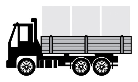 dumptruck: Delivery truck