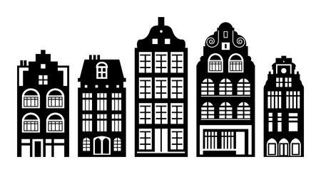 古いオランダの家セット