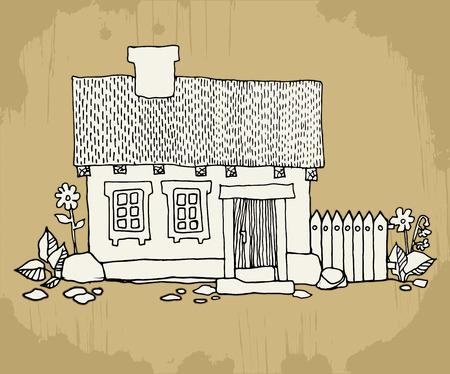 Cartoon huizen