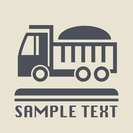 Transportation icon or sign Vector