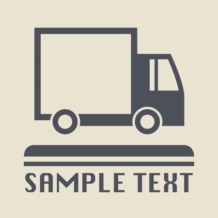 transportation icon: Transportation icon or sign