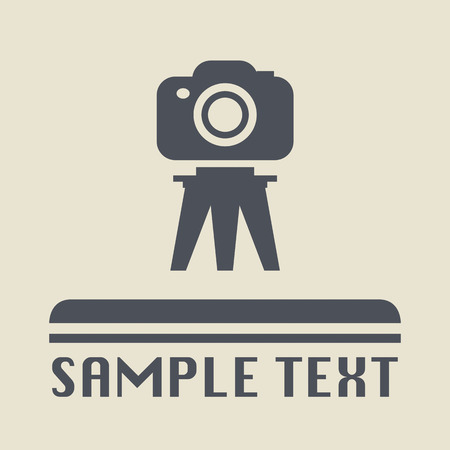 photography icon: Photography icon or sign Illustration
