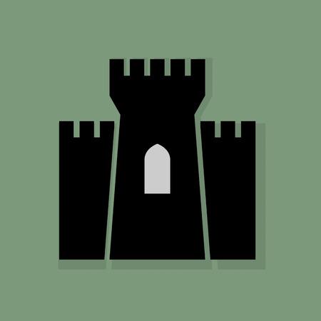 Schloss-Symbol oder Zeichen
