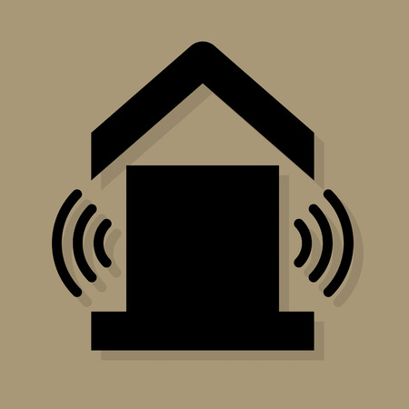 House service icon or sign Illustration