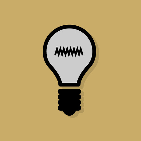 Light Bulb icon or sign Vector