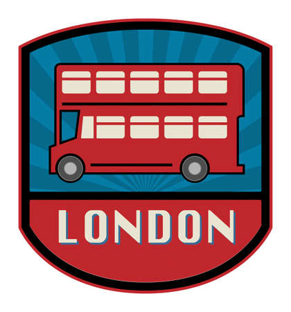Bus label Vector