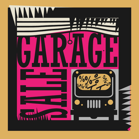 sensational: Abstract Garage Sale sign
