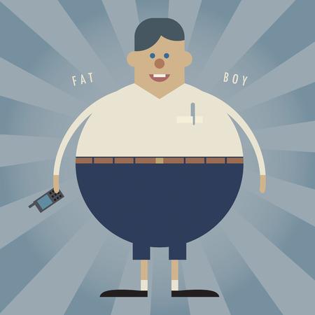 fiúk: Kövér fiú