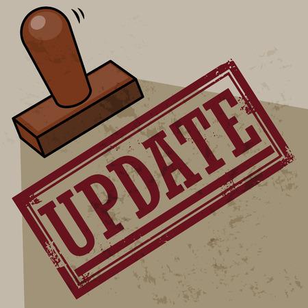 Stamp Update Stock Vector - 24221524