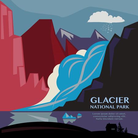 Fondo Parque Nacional Glacier