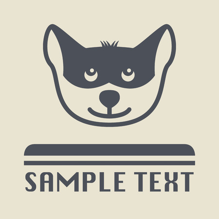 Dog pet icon or sign Vector