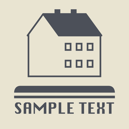House icon or sign Vector