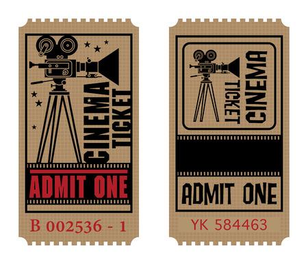 Retro-Kino-Ticket