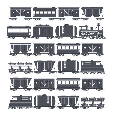 Treinstel Stock Illustratie