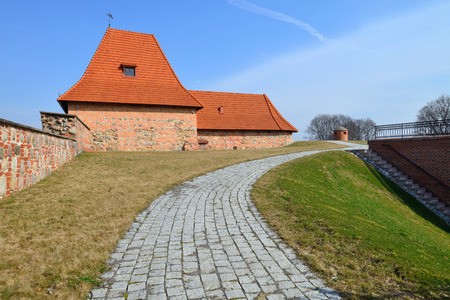 fortification: The Bastion of City Wall, Renaissance-style fortification in Vilnius, Lithuania Editorial