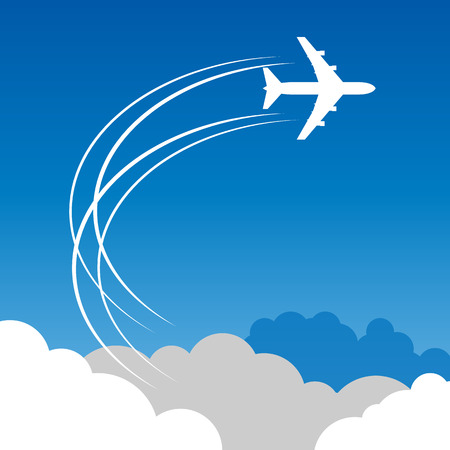 airplane cargo: Travel or Air Cargo agency abstract