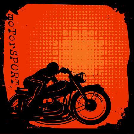 fmx: Motorsport background Illustration