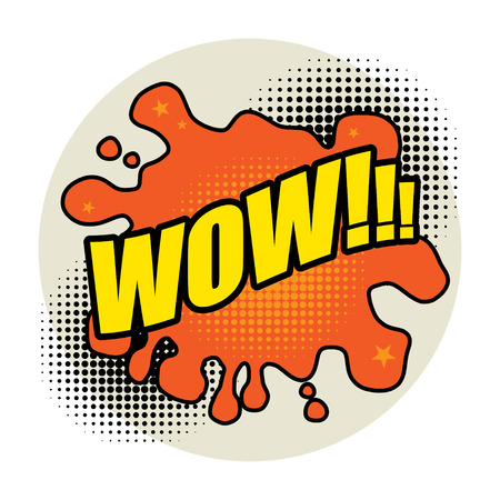 Comic book explosion abstract Vector