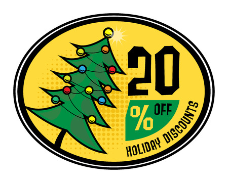 commercial tree service: Sale discount sign