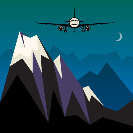 Travel or Air Cargo abstract Vector
