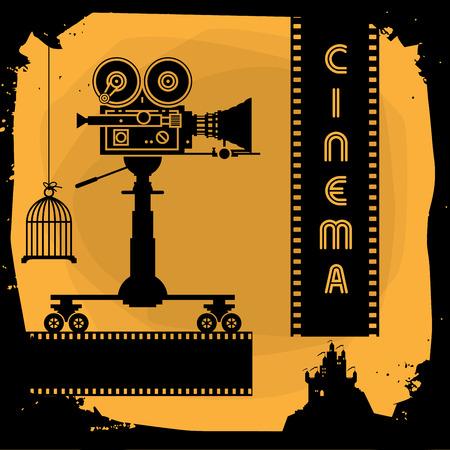 Abstrakcyjne tła kinowe
