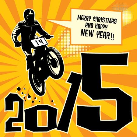 New year motocross race