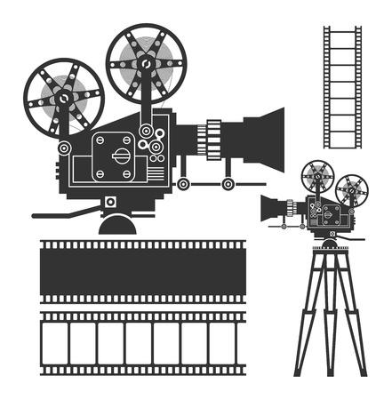 Cinema set Banco de Imagens - 32767398