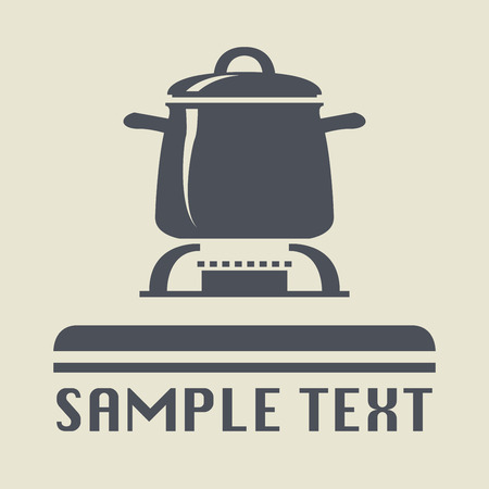 Cooking icon or sign, vector illustration Vector
