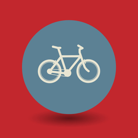 allowed: Bicycle icon or sign, vector illustration