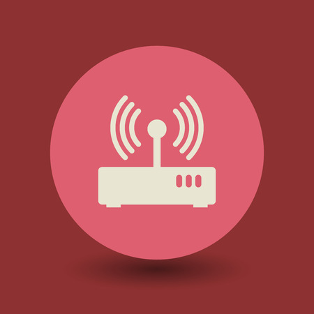 airwaves: Network icon or sign, vector illustration