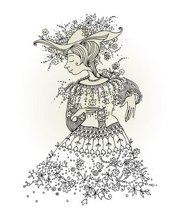 cartoon princess: Cartoon princess