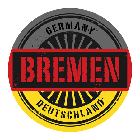bremen: Grunge rubber stamp with the text Germany, Bremen, vector illustration