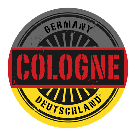 cologne: Grunge rubber stamp with the text Germany, Cologne, vector illustration Illustration