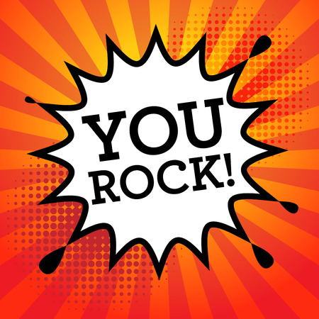 599 You Rock Stock Vector Illustration And Royalty Free You Rock Clipart