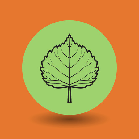 Eco symbol, vector illustration Vector