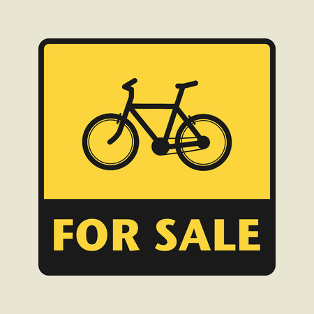 eco notice: For Sale icon or sign, vector illustration