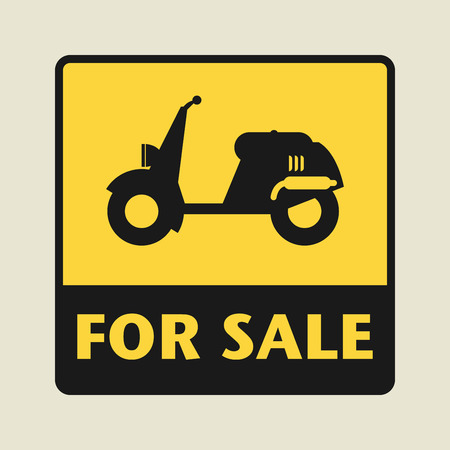 revivalism: For Sale icon or sign, vector illustration