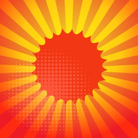 burst background: Abstract burst background, vector illustration