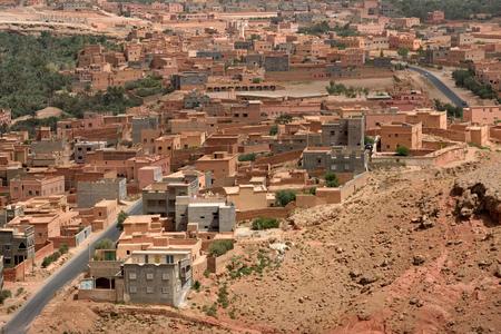 berber: Traditional berber village in Atlas Mountain, Morocco